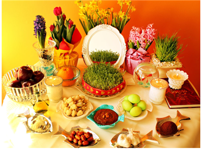 Welcome Spring: Nowruz the Persian New Year Begins