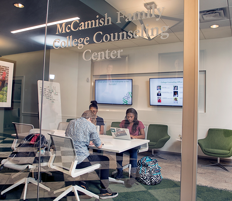Located In The Main Corridor Of Pressly Hall, The McCamish Family College  Counseling Center Is Home To Our Team Of College Counselors.