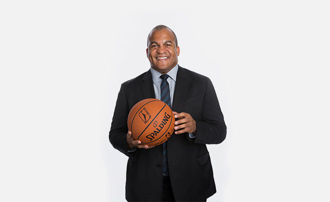 Malcolm Turner '89: Developing Basketball Talent
