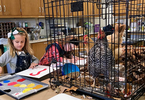 Hens Enrapture Students, Teach Economics