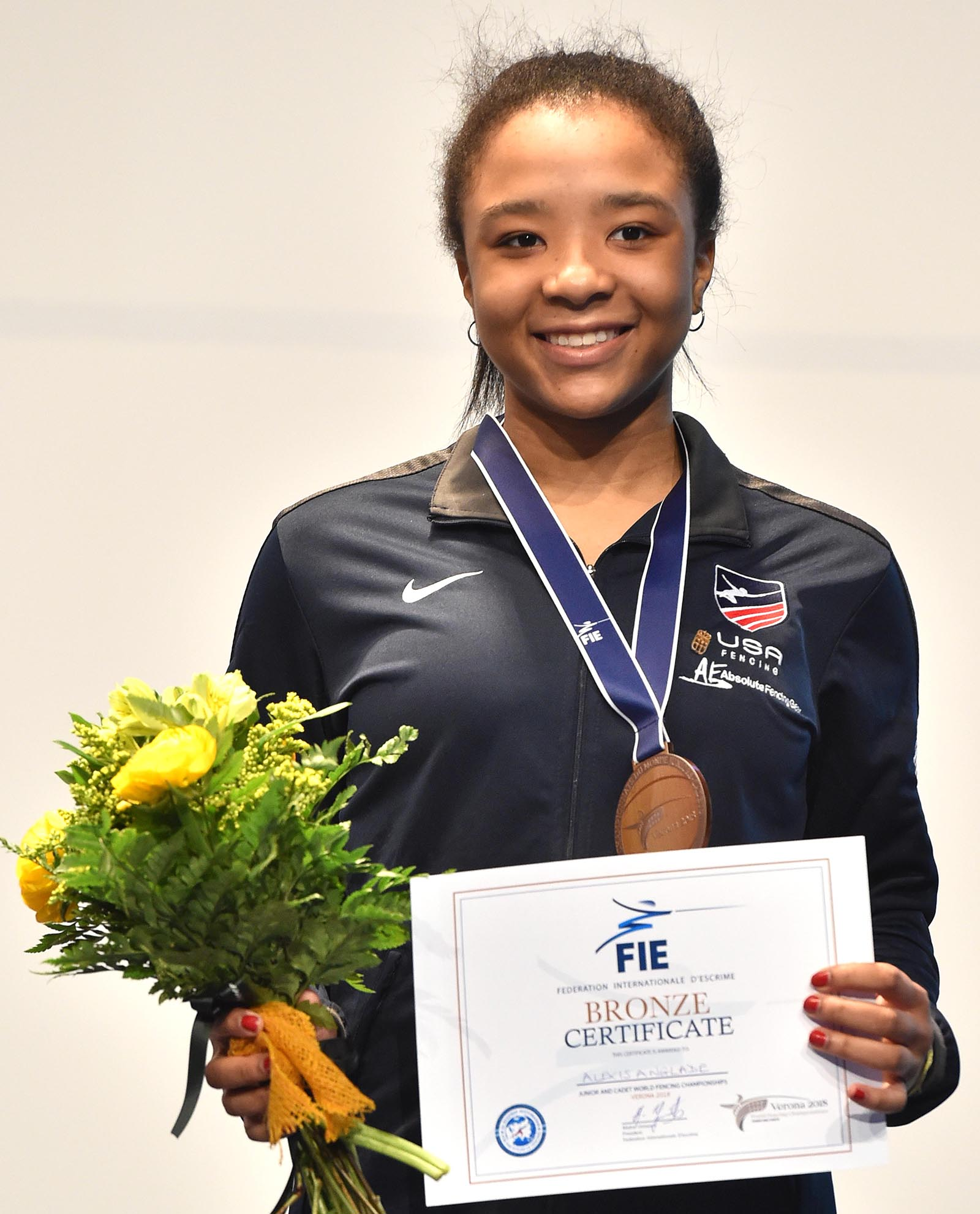 Junior Wins Bronze at World Fencing Championship