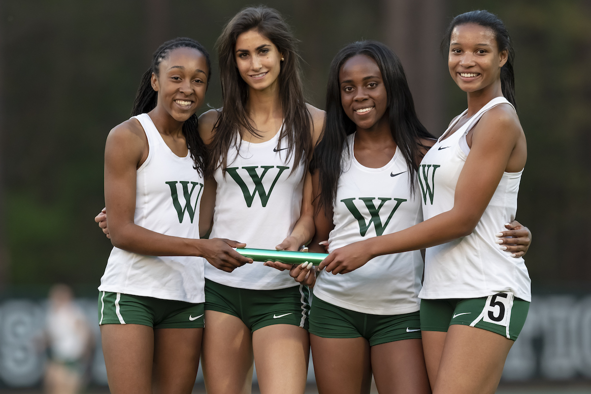 Girls Track Team Breaks School Records