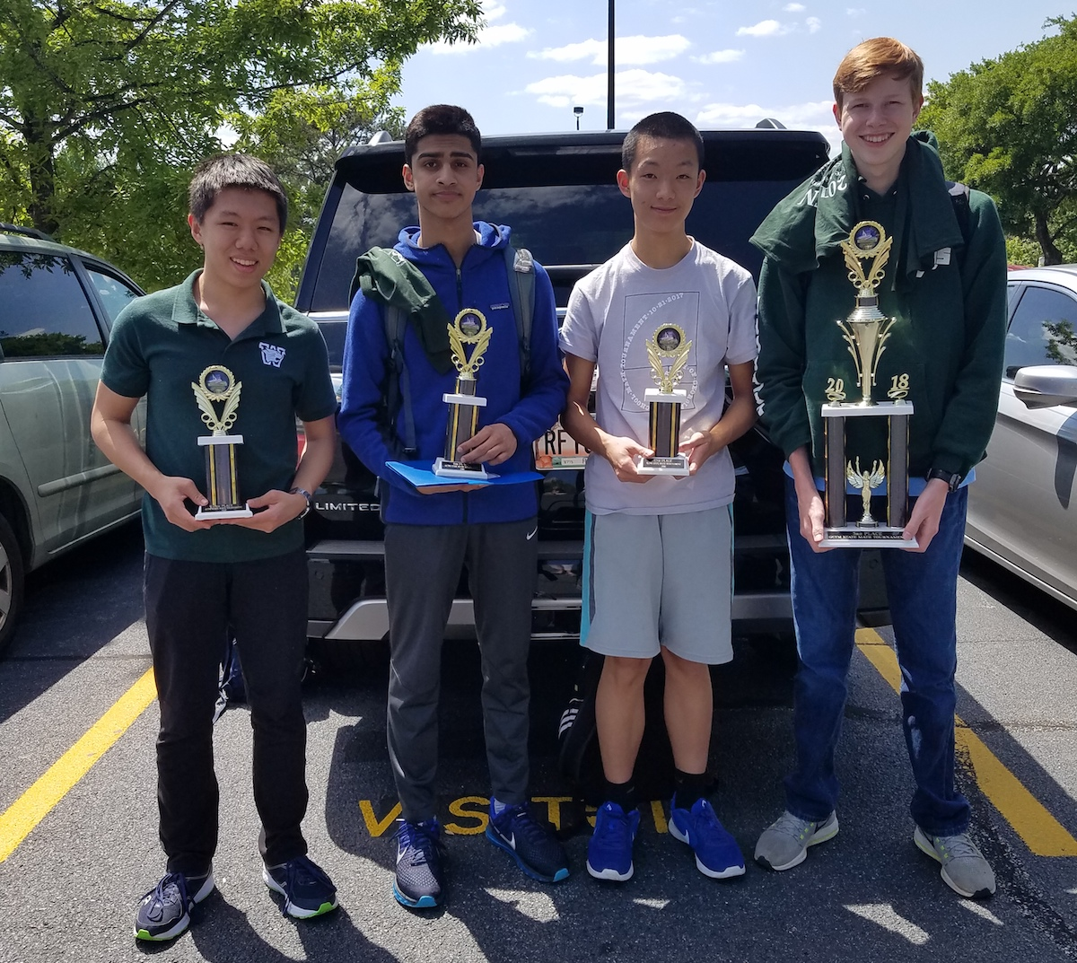 Math Team Finishes Fourth at State Competition