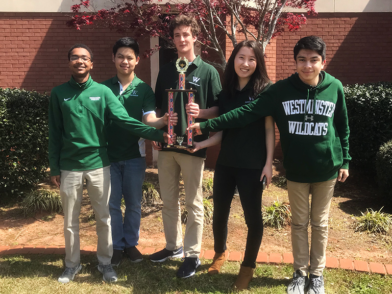 Academic Teams Excel at State Competitions