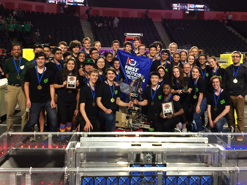 WiredCats Earn Berth at International Robotics Championship