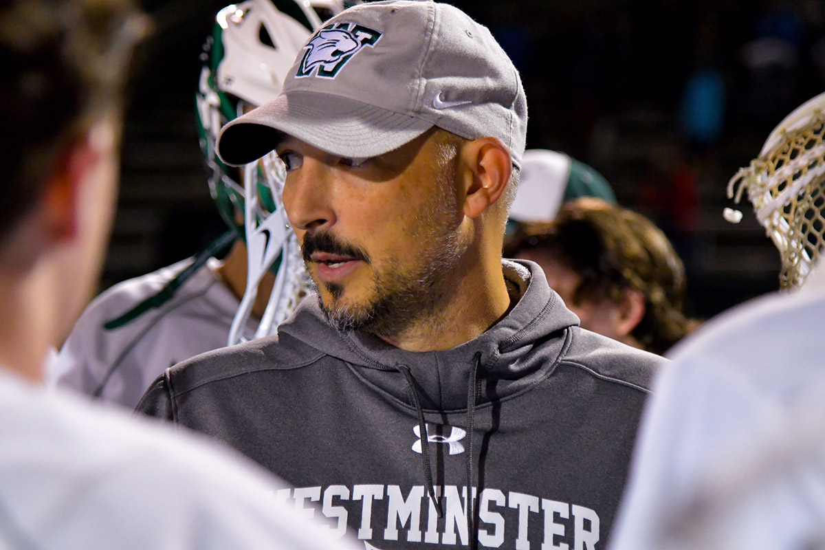 Boys Lacrosse Coach Hits Career Milestone
