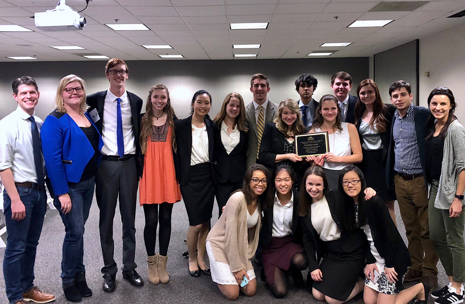 Mock Trial Team Wins District Championship, Heads to State Competition