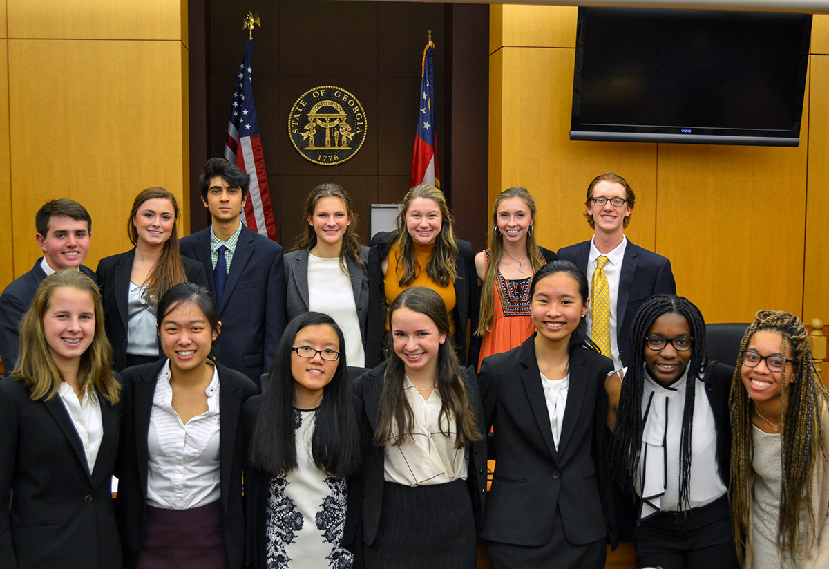Mock Trial Team Has Stellar Performance at Regional Competition