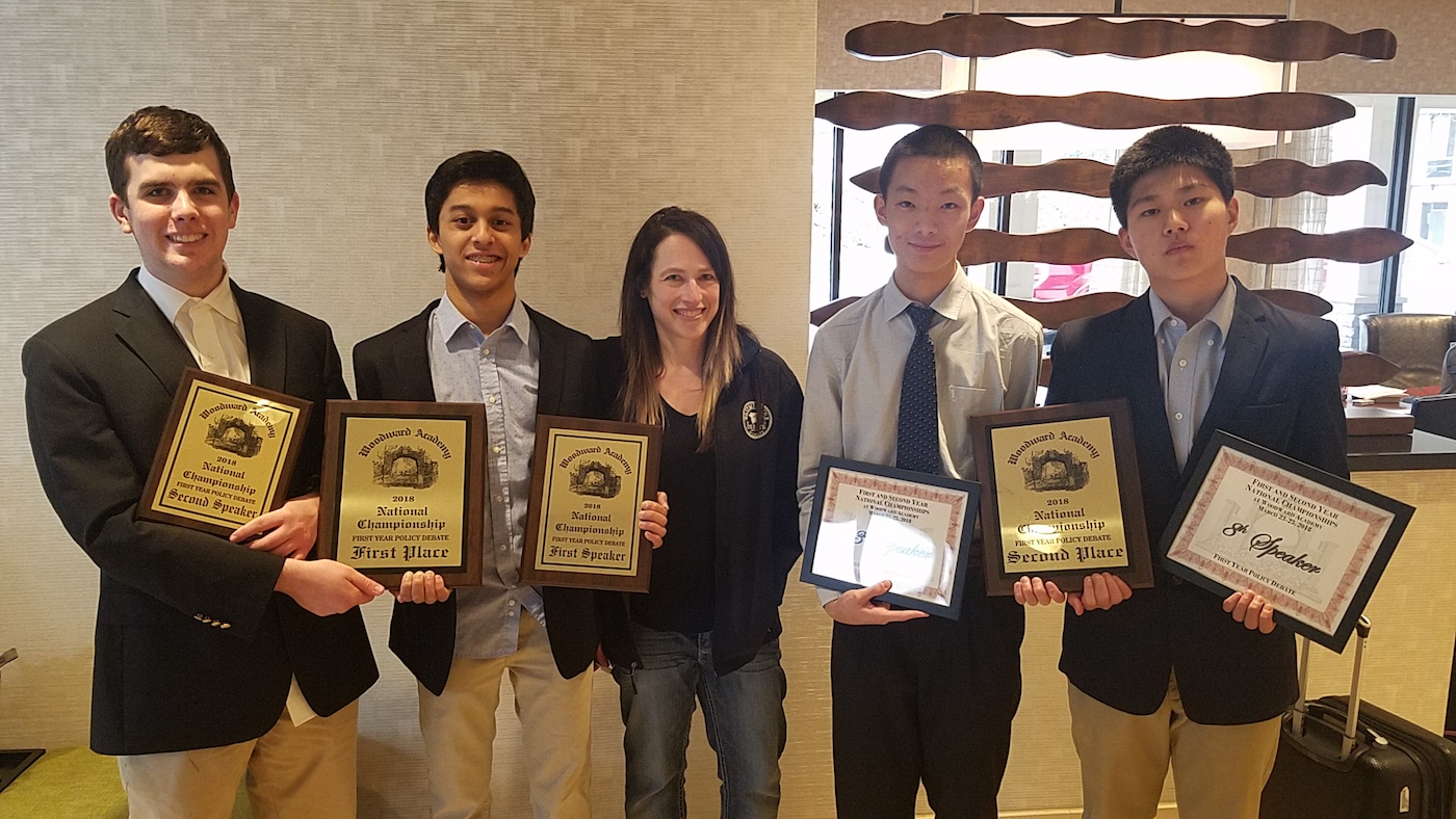 Debate Teams Win at National Championship
