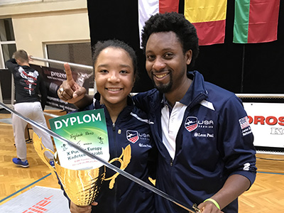 Alexis Anglade '19: International Fencing Champion